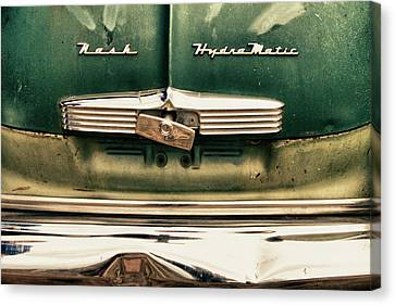 1951 Nash Ambassador Hydramatic Canvas Print by James BO  Insogna