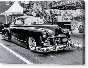1951 Chevy Kustomized  Canvas Print by Ken Morris