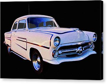 1952 Ford Coupe Digtal Oil Canvas Print