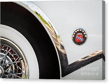 Canvas Print featuring the photograph 1953 Buick Abstract 2 by Dennis Hedberg