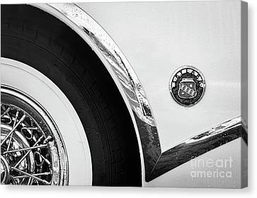 Canvas Print featuring the photograph 1953 Buick Abstract  by Dennis Hedberg