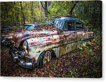 1953 Chevy Canvas Print by Debra and Dave Vanderlaan