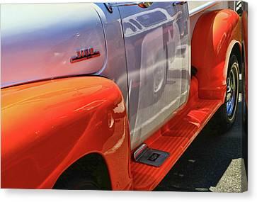 Canvas Print - 1954 Chevy 3100 Truck by Allen Beatty