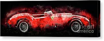 1954 Ferrari 375 Canvas Print