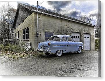 1954 Ford Crestline Hdr Rev A Canvas Print by Michael Rankin