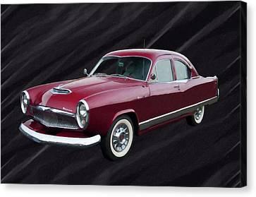 1954 Kaiser Special Digital Oil Canvas Print