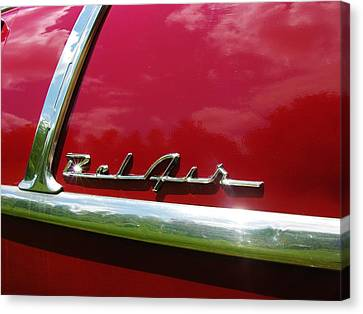 1955 Belair Canvas Print by Sherman Perry