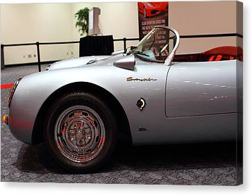 1955 Porsche 550 Rs Spyder . 7d 9411 Canvas Print by Wingsdomain Art and Photography