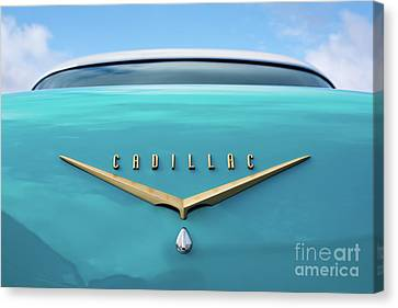 Canvas Print featuring the photograph 1956 Cadillac Sedan De Ville by Tim Gainey
