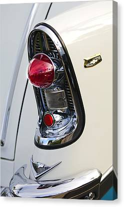 1956 Chevrolet Belair Nomad Taillight Emblem Canvas Print by Jill Reger