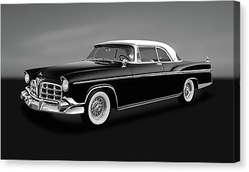Canvas Print featuring the photograph 1956 Chrysler Imperial Southampton   -   1956chrysimperialgry170226 by Frank J Benz