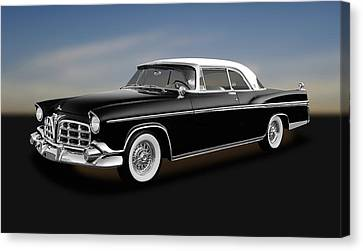 Canvas Print featuring the photograph 1956 Chrysler Imperial Southampton   -   1956chryslerimperial170226 by Frank J Benz