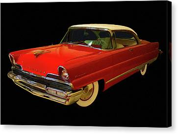 1956 Lincoln Premier Digital Oil Canvas Print