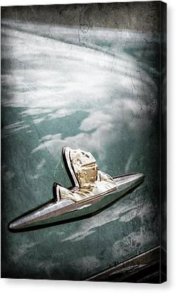 1956 Lincoln Priemere Emblem -0881ac Canvas Print