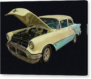 1956 Olds Rocket 88 Digital Oil Canvas Print