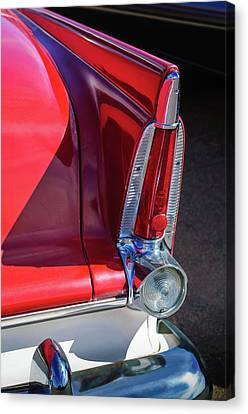 1956 Plymouth Tail Light -ck0233c Canvas Print by Jill Reger