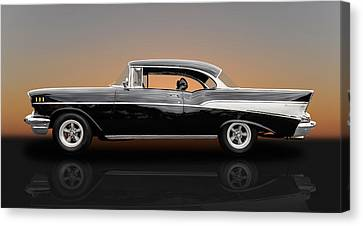 1957 Chevrolet Bel Air Sport Coupe - V1 Canvas Print