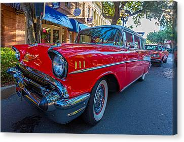 1957 Chevy Bel Air Canvas Print by Gestalt Imagery