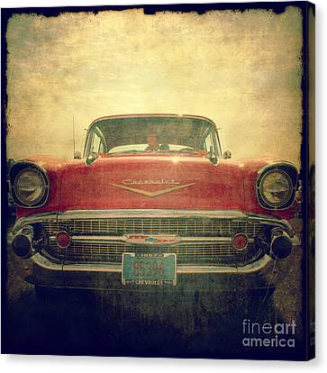 1957 Chevy Canvas Print by Joel Witmeyer