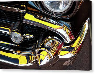Canvas Print featuring the photograph 1957 Chevy by Roger Mullenhour
