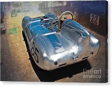 1957 Lotus Eleven Le Mans Canvas Print