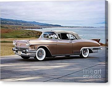 1958 Cadillac Eldorado Bairritz Canvas Print