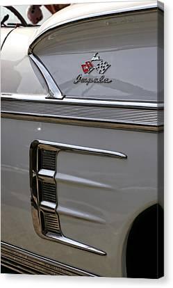 1958 Chevrolet Impala Canvas Print by Gordon Dean II