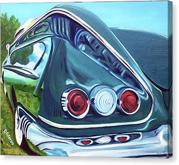 1958 Reflections Canvas Print