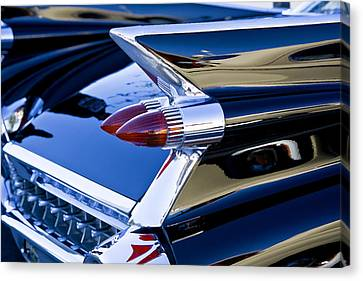 1959 Cadillac Coupe Deville  Canvas Print by Rich Franco