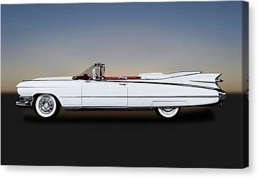 1959 Cadillac Eldorado Biarritz Convertible   -  1959eldoradobiarritzcv171882 Canvas Print