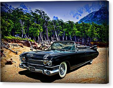 1959 Cadillac Eldorado Biarritz Convertible Canvas Print by Tim McCullough