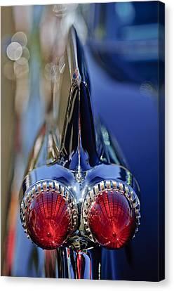 1959 Cadillac Eldorado Tail Fin 4 Canvas Print by Jill Reger