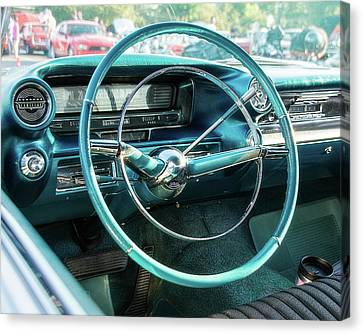 1959 Cadillac Sedan Deville Series 62 Dashboard Canvas Print