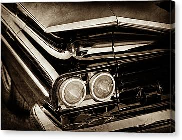 1959 Chevrolet El Camino Taillights -0463s Canvas Print by Jill Reger
