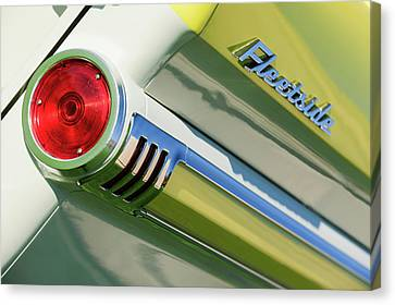 1959 Chevrolet Napco Fleetside Tail Light Emblem -1564c Canvas Print by Jill Reger