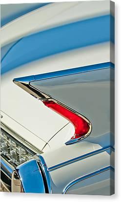 1960 Cadillac Eldorado Biarritz Convertible Taillight Canvas Print by Jill Reger