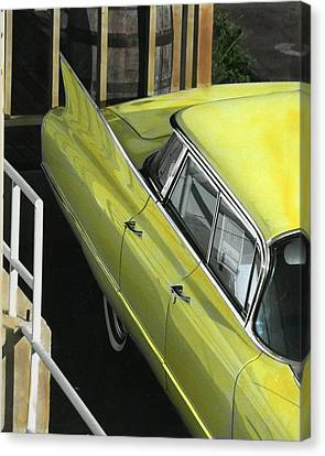 Canvas Print featuring the photograph 1960 Cadillac by Jim Mathis