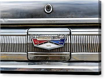 1960 Ford Falcon Trunk Lid Emblem Canvas Print