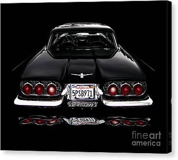 1960 Thunderbird Hardtop Coupe Canvas Print by Peter Piatt