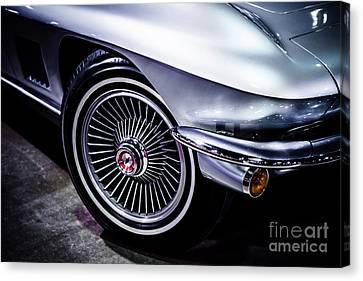 1960's Chevrolet Corvette Photo Canvas Print