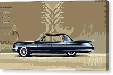 1961 Cadillac Fleetwood Sixty-special Canvas Print