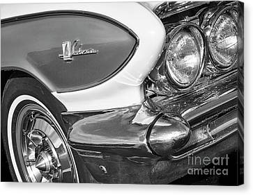 Canvas Print featuring the photograph 1961 Le Sabre Monotone by Dennis Hedberg