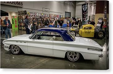 Canvas Print featuring the photograph 1962 Buick Skylark by Randy Scherkenbach