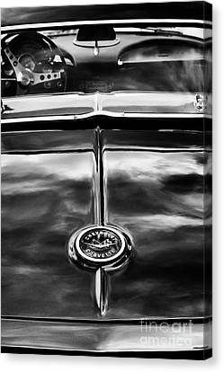 1962 Chevrolet Corvette Canvas Print by Tim Gainey