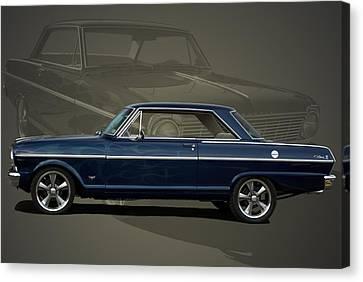 1963 Chevy II Nova Canvas Print by Tim McCullough
