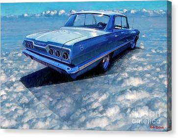 1963 Chevy Impala Canvas Print by Blake Richards