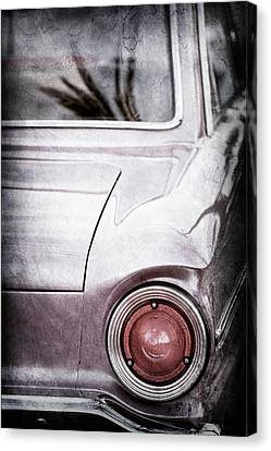 1963 Ford Falcon Taillight -0566ac Canvas Print