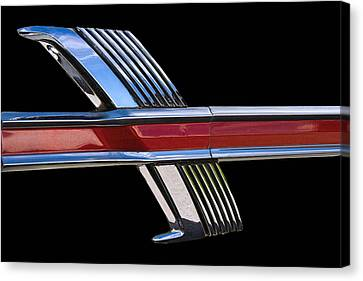 1964 Ford Fairlane Emblem Canvas Print by Nick Gray