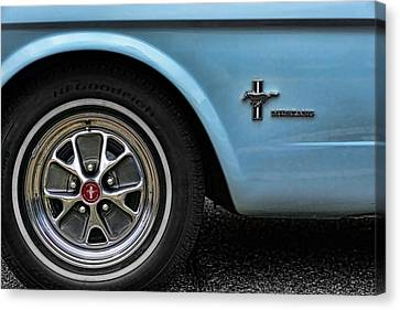 1964 Ford Mustang Canvas Print by Gordon Dean II