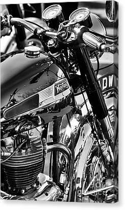 Canvas Print featuring the photograph 1964 Norton Atlas by Tim Gainey